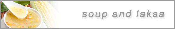 Soup & Laksa